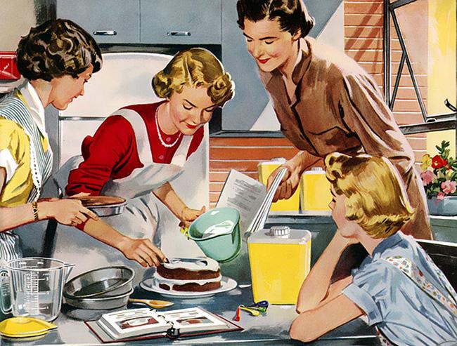 غذای مامان پز و تبلیغ نویسی
